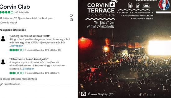 Corvin Club Tripadvisor